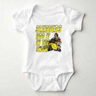 SledderDooDesign Baby Bodysuit