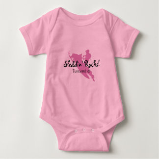Sleddin' Rocks! Baby Bodysuit