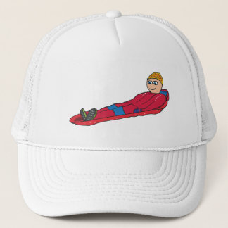 Sledding Trucker Hat