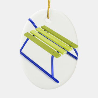 Sledge Ceramic Ornament