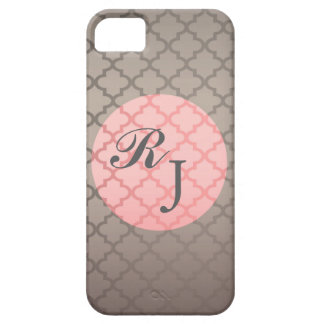 Sleek and Sophisticated Initial Iphone 5 case