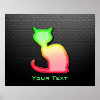 Sleek Cat Print