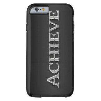 Sleek Chrome Metallic Inspirational iPhone 6 case Tough iPhone 6 Case