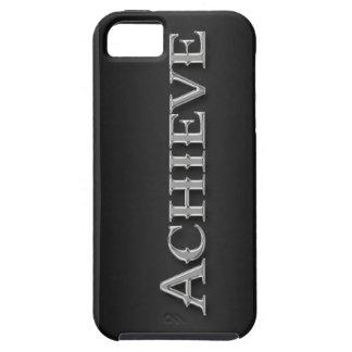 Sleek Chrome Metallic Inspirational iPhone Case