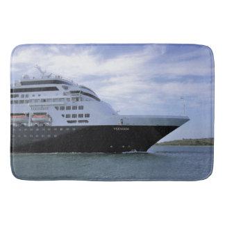 Sleek Cruise Ship Bow Bath Mats