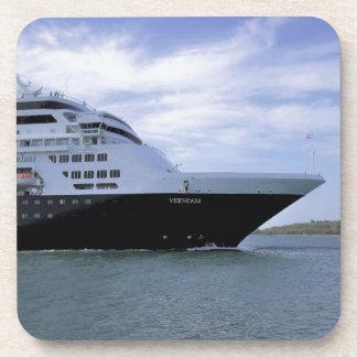 Sleek Cruise Ship Bow Coaster