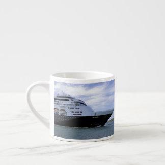 Sleek Cruise Ship Bow Espresso Cup