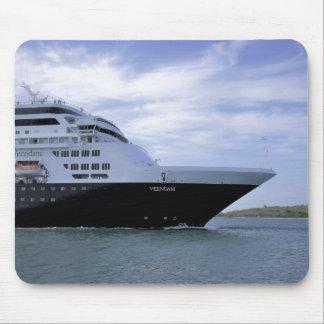 Sleek Cruise Ship Bow Mouse Pad
