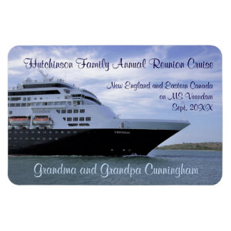 Sleek Cruise Ship Bow Stateroom Door Marker Magnet