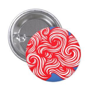 Sleek Delightful Adorable Fun 3 Cm Round Badge