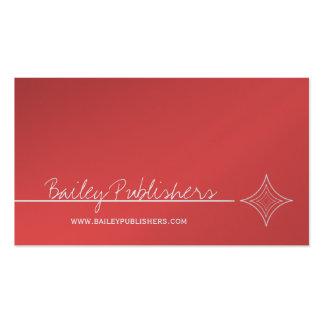 Sleek Diamond Business Card, Bright Pink