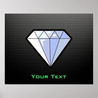 Sleek Diamond Print