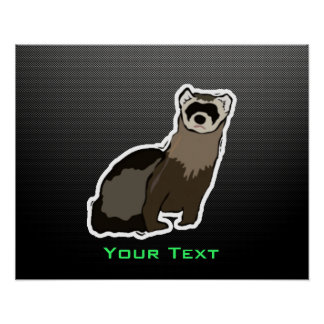 Sleek Ferret Print
