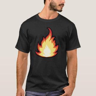 Sleek Fire Flame T-Shirt