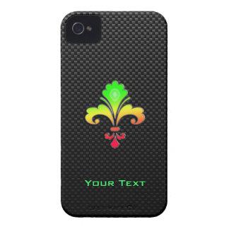 Sleek Fleur de lis iPhone 4 Case