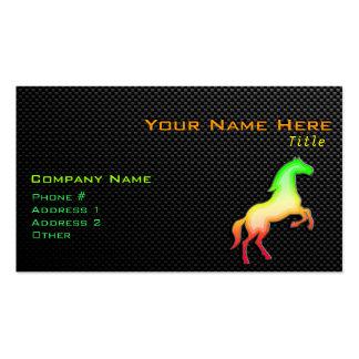 Sleek Horse Business Card