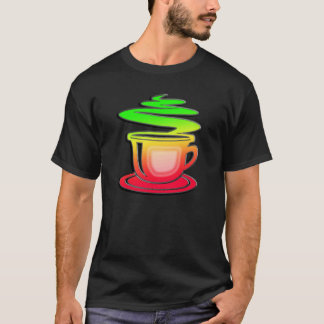 Sleek Hot Coffee T-Shirt