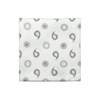 Sleek Industrial Paisley Napkin
