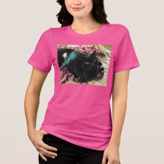 Sleek Kitty Relaxed Fit Jersey T-Shirt