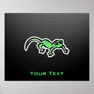 Sleek Lizard Print