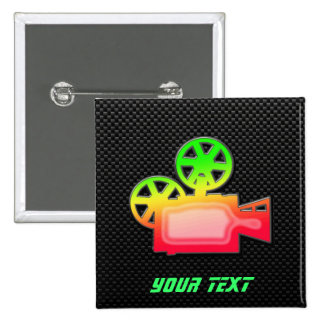Sleek Movie Camera Buttons