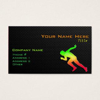 Sleek Running Business Card
