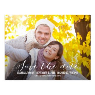 SLEEK Save The Date Postcard