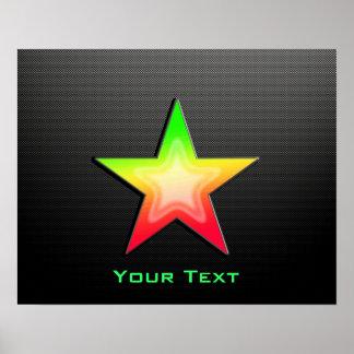 Sleek Star Posters