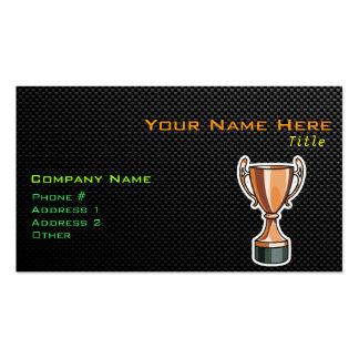 Sleek Trophy Business Card
