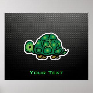 Sleek Turtle Posters