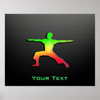 Sleek Yoga Posters