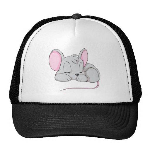 Sleep Baby Mouse Rat Nap Shirt Trucker Hats