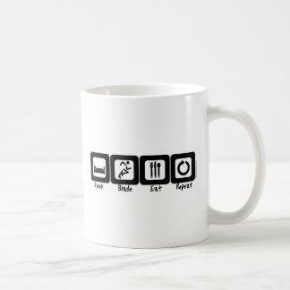 Sleep Blade Eat Repeat Coffee Mug