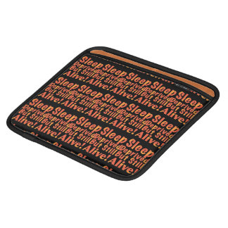 Sleep Deprived But Still Alive in Fire Tones iPad Sleeve
