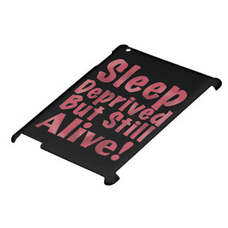 Sleep Deprived But Still Alive in Raspberry Case For The iPad