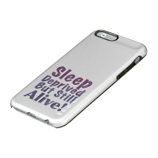 Sleep Deprived But Still Alive in Sleepy Purples Incipio Feather® Shine iPhone 6 Case