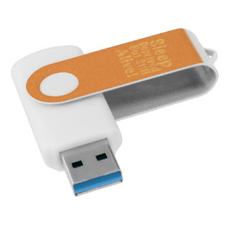 Sleep Deprived But Still Alive in Yellow USB Flash Drive