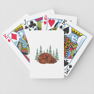 SLEEP JUST RIGHT BICYCLE PLAYING CARDS