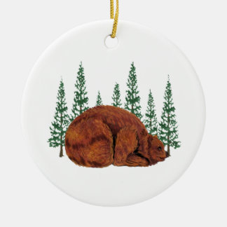 SLEEP JUST RIGHT CERAMIC ORNAMENT