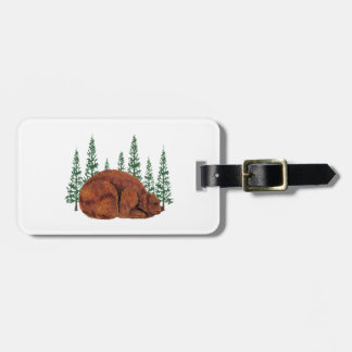 SLEEP JUST RIGHT LUGGAGE TAG