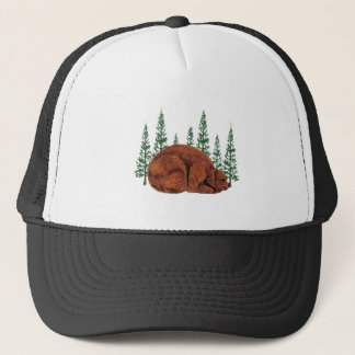 SLEEP JUST RIGHT TRUCKER HAT