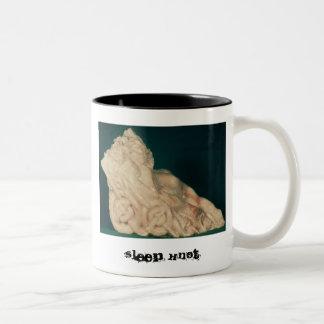 Sleep Knot Two-Tone Coffee Mug