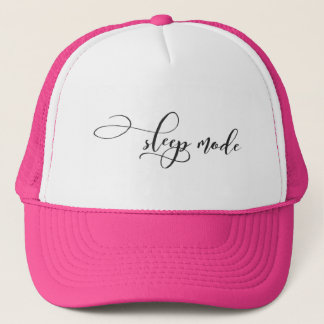 Sleep Mode Trucker Hat