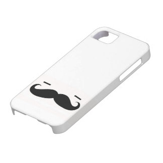 Sleep Mustache Man Case Barely There iPhone 5 Case