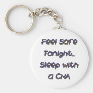 sleep with a CNA Key Ring