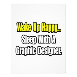 Sleep With A Graphic Designer Flyer