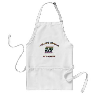 SLEEP WITH A LAWYER STANDARD APRON