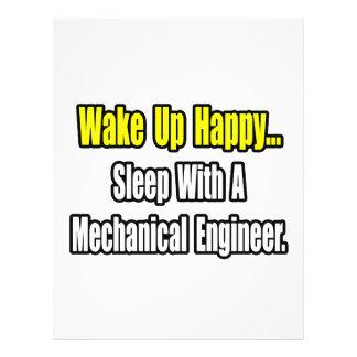 Sleep With A Mechanical Engineer Flyers