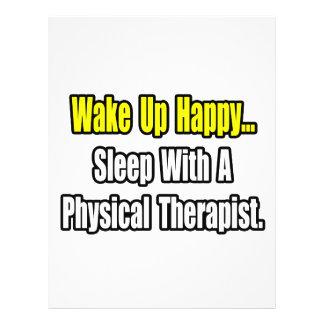 Sleep With A Physical Therapist 21.5 Cm X 28 Cm Flyer