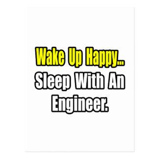Sleep With an Engineer Postcard